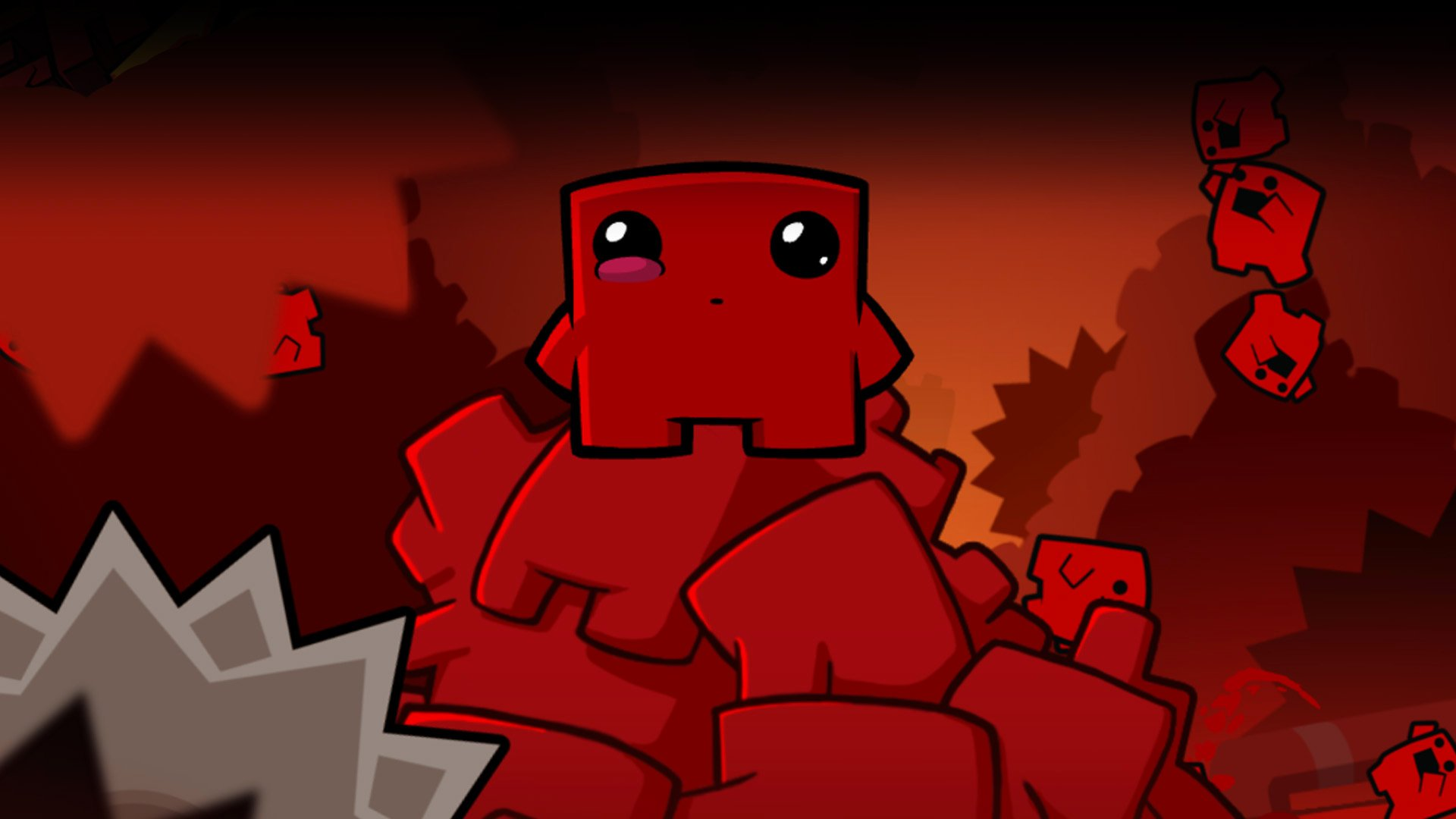 Super Meat Boy Forever hit with small delay, takes potshot at EA screenshot