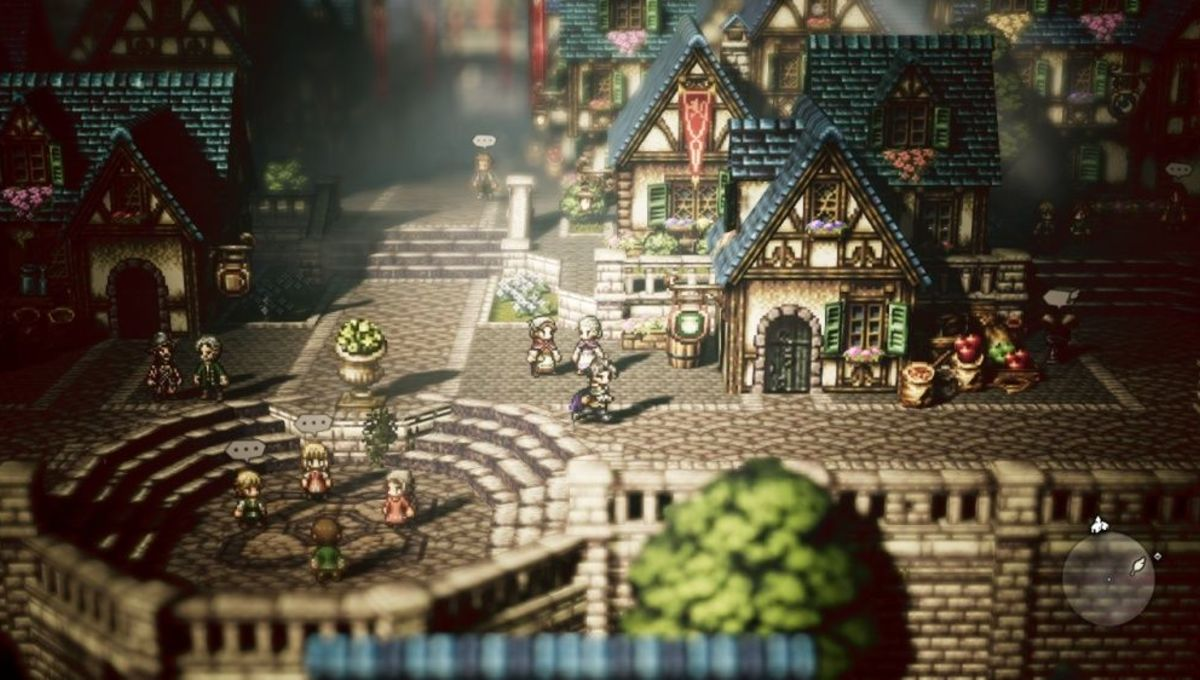 It looks like Octopath Traveler is probably coming to PC screenshot