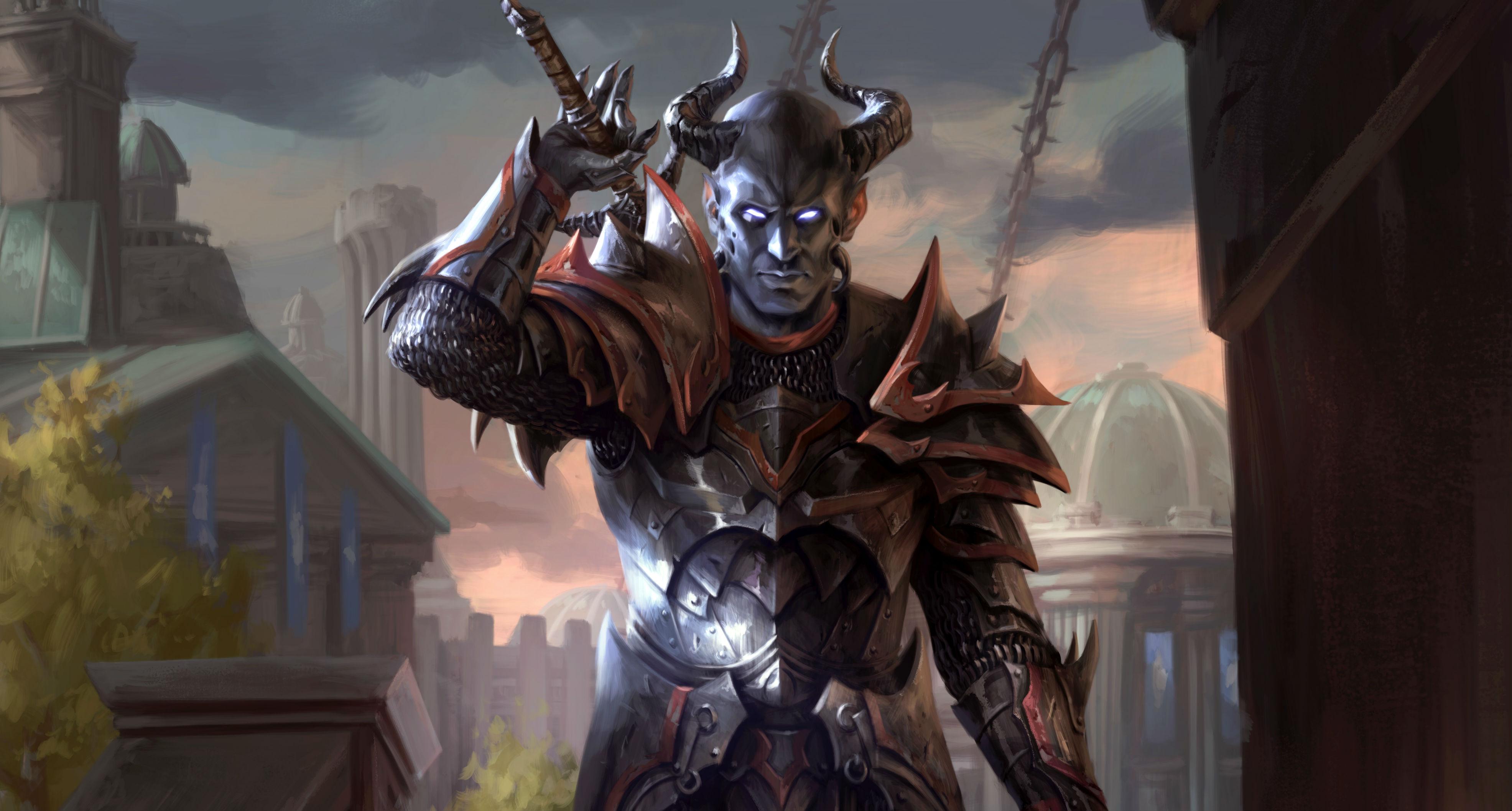 Here's an exclusive card reveal for The Elder Scrolls: Legends' Alliance War expansion screenshot