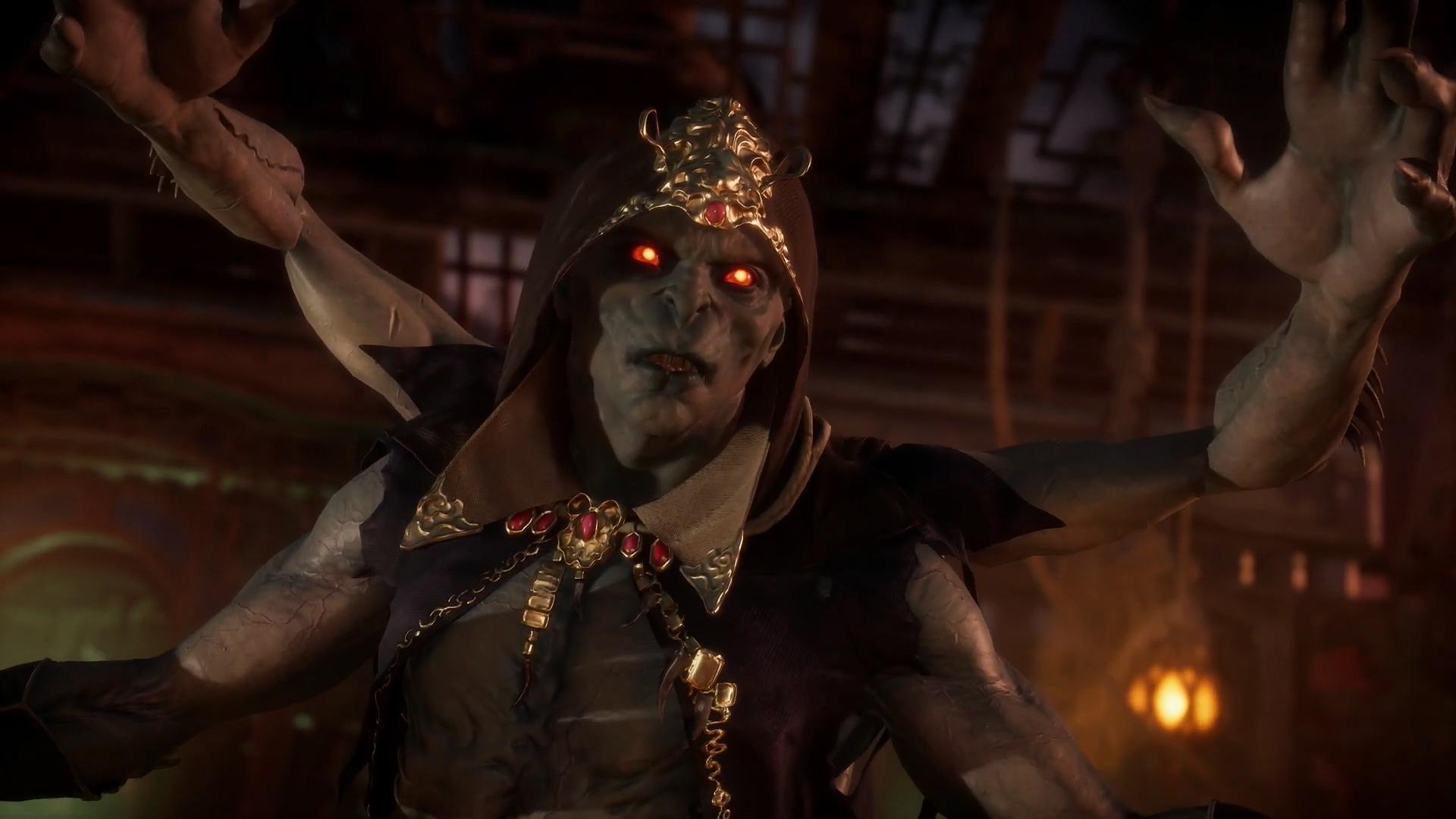 Mortal Kombat 11 has a new multi-armed goon named the Kollector screenshot