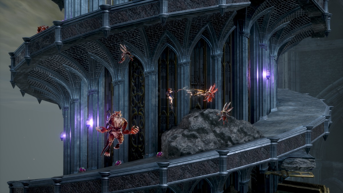 I'm not really feeling Bloodstained: Ritual of the Night