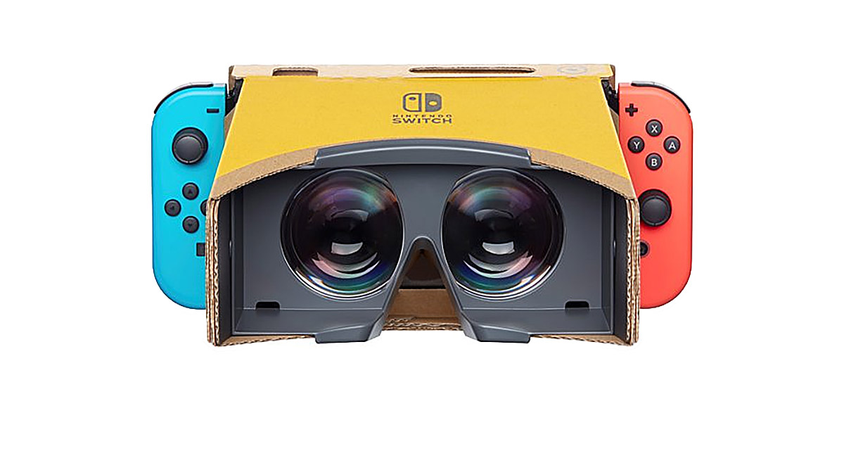 Nintendo's take on VR with Labo is...interesting screenshot