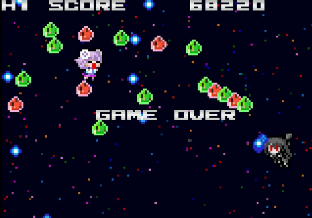 Nep-Nep is back, now in shmup form, with Neptunia Shooter screenshot