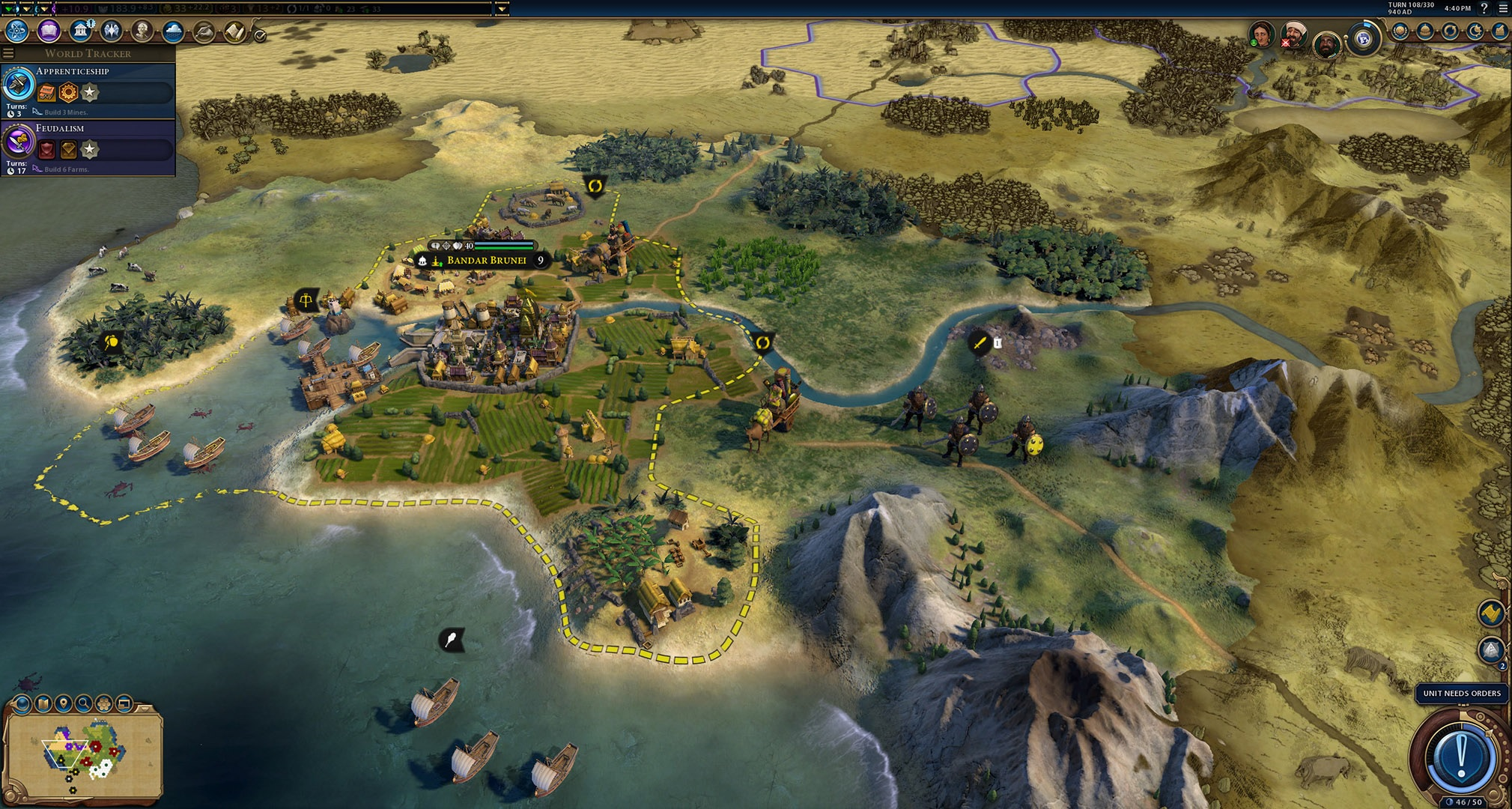 This Civilization VI mod changes the graphics to look like