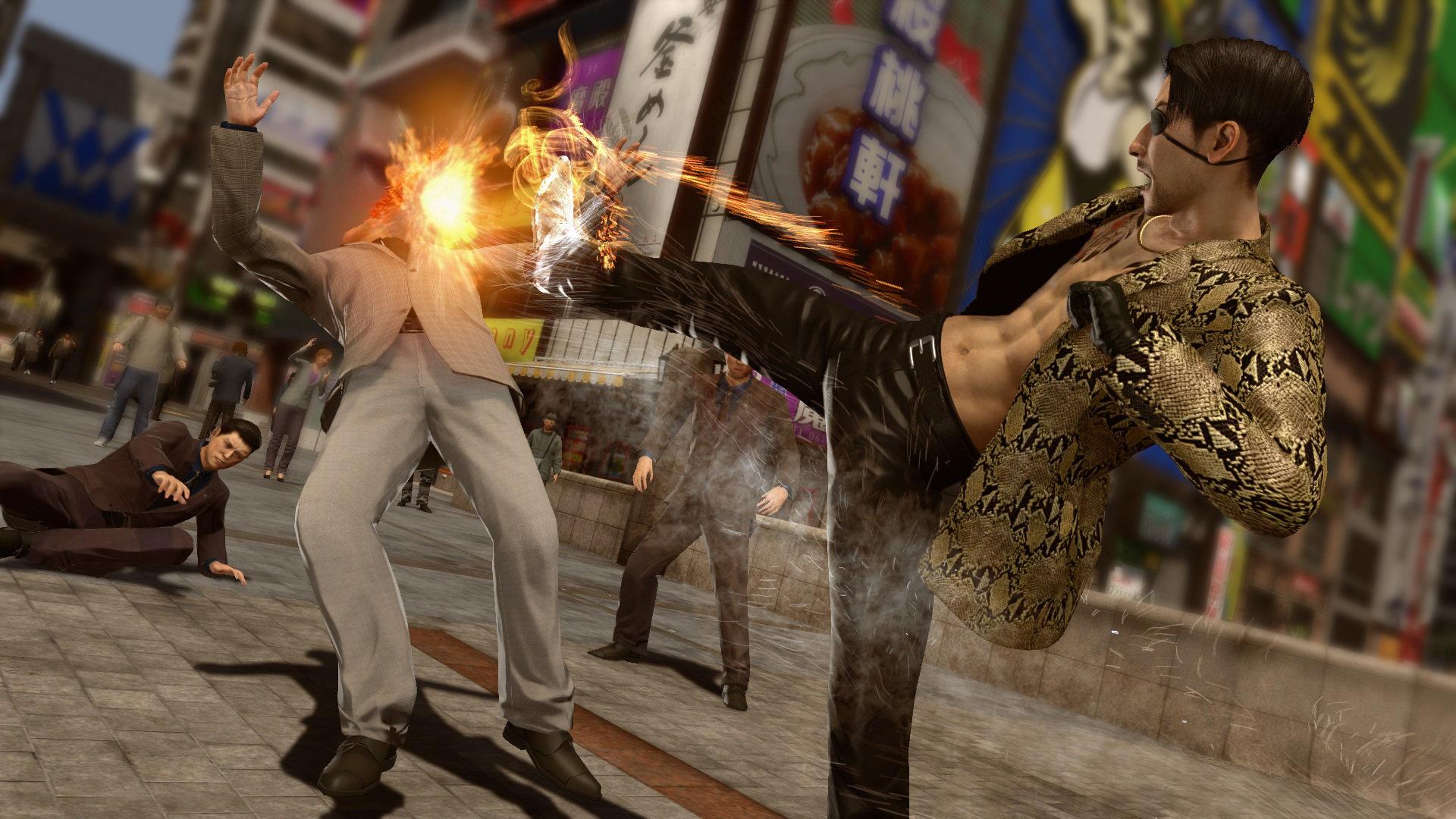 Yakuza Kiwami 2 PC setting up shop on Steam in May screenshot