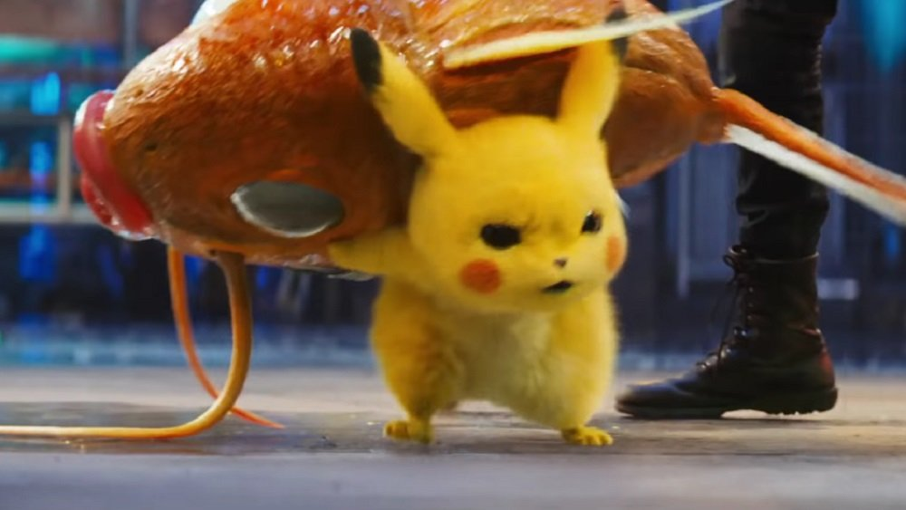 Detective pikachu trailer shows how cinematic magikarp offers just as little in battle - Image pikachu ...
