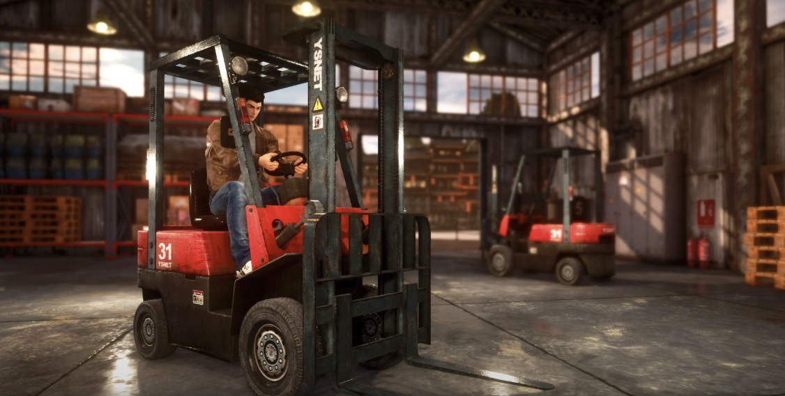 Forklifts confirmed for Shenmue III screenshot