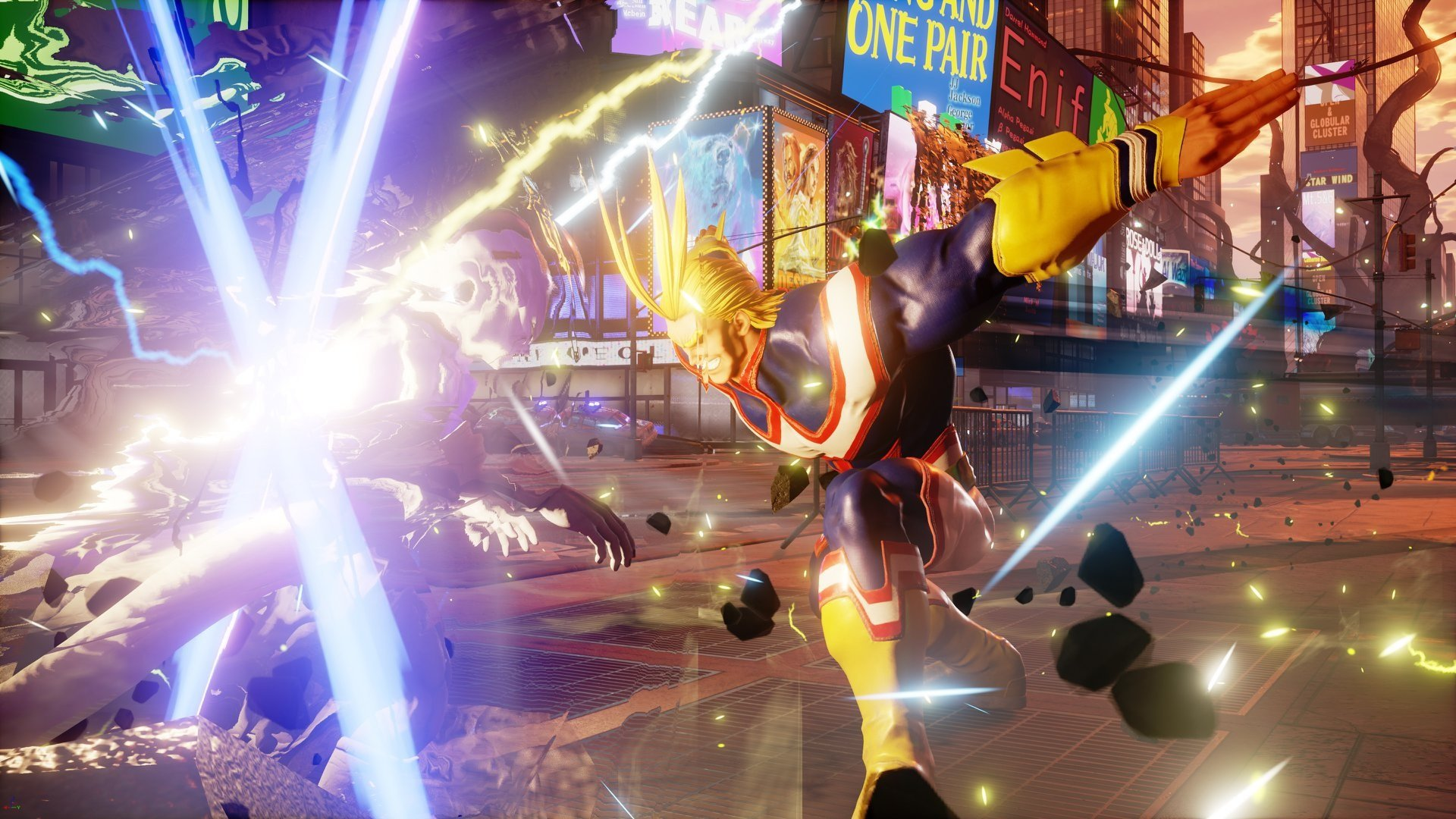 All Might California Smashes his way into Jump Force screenshot
