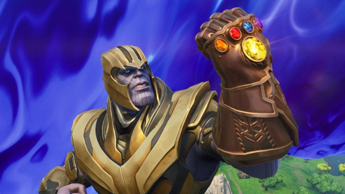 Fortnite datamining efforts uncover possible Thanos revival on the dawn of the new Avengers film screenshot