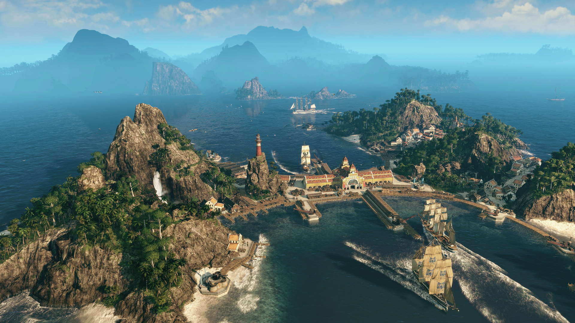Go on, let the Anno 1800 open beta dominate your whole weekend screenshot