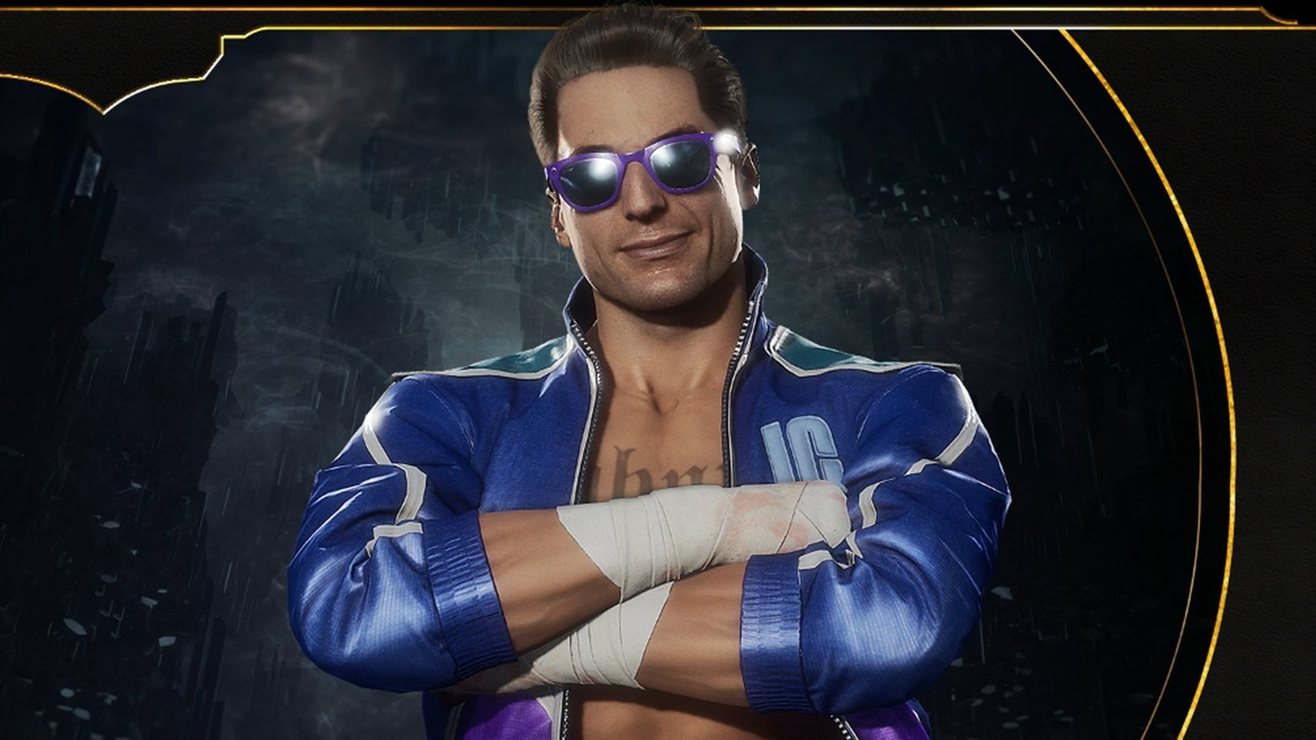 Johnny Cage may take the cake for best Mortal Kombat 11 fatalities screenshot