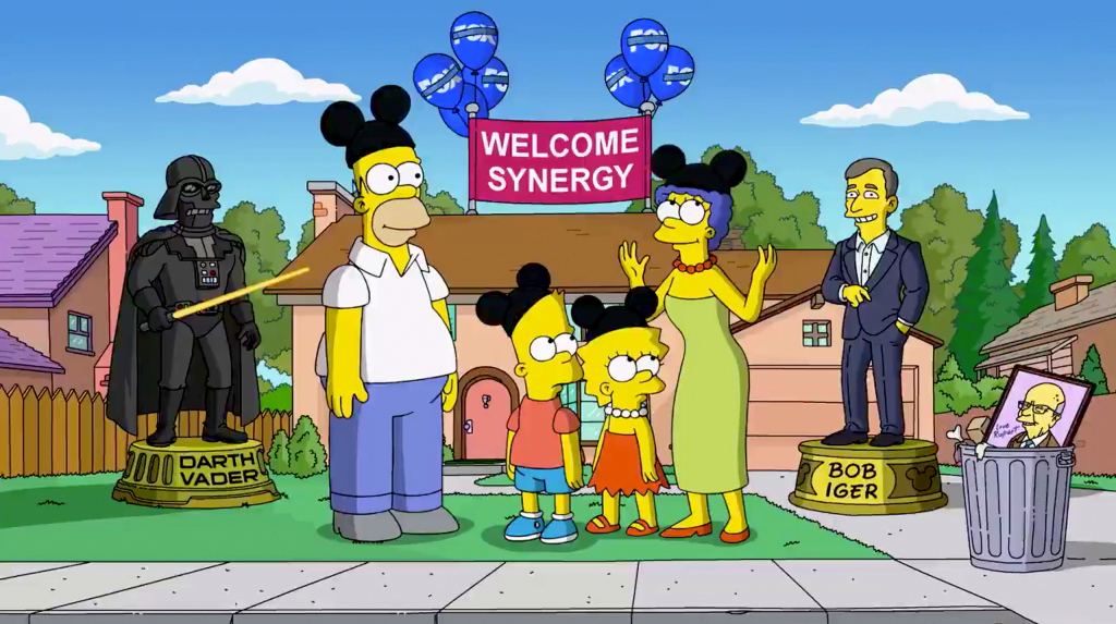 The Simpsons have become everything they once stood against