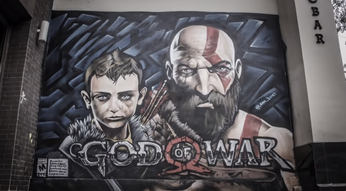 Wow, the new God of War turns one year old this week screenshot