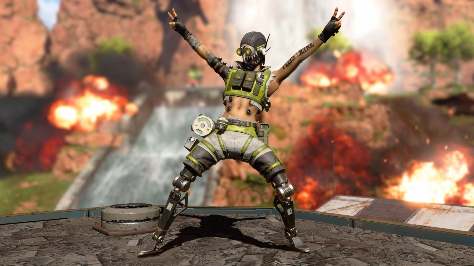 So you're saying there's a chance? Apex Legends Switch edition being discussed at Respawn screenshot