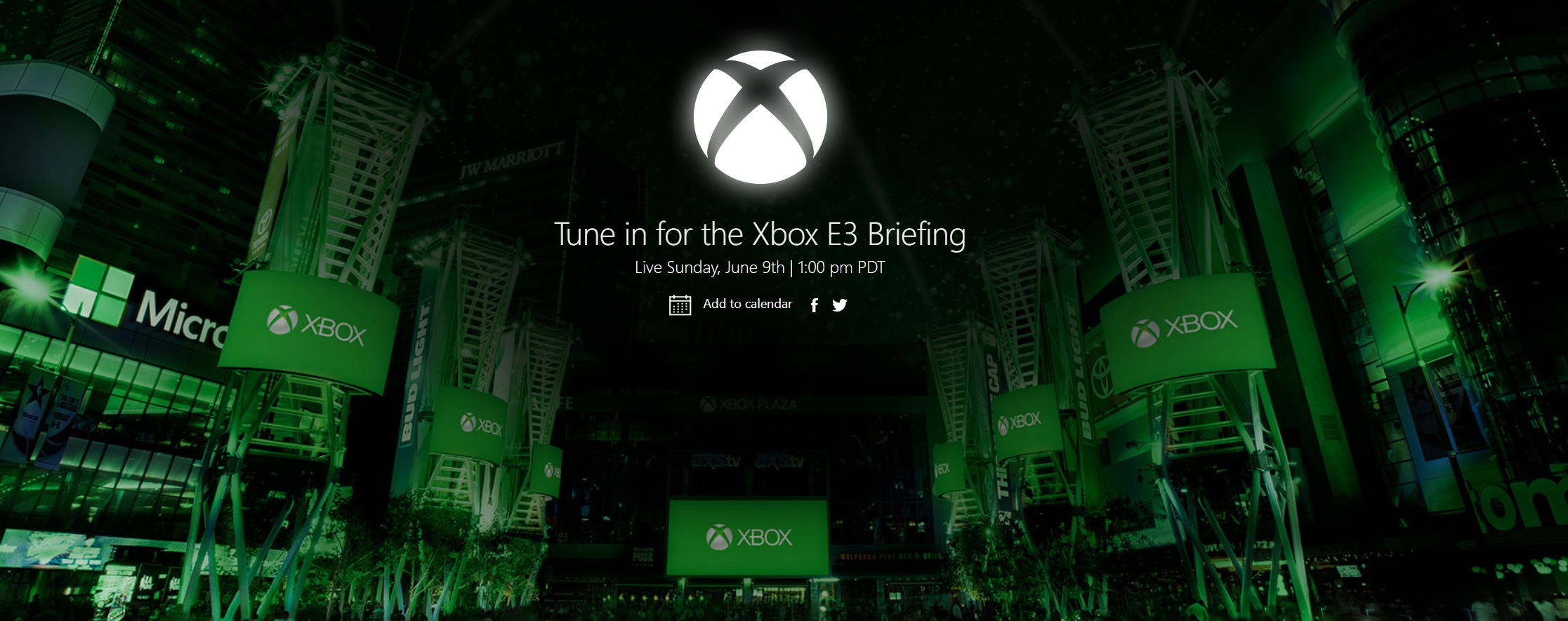 Microsoft's E3 conference will be held on June 9 screenshot
