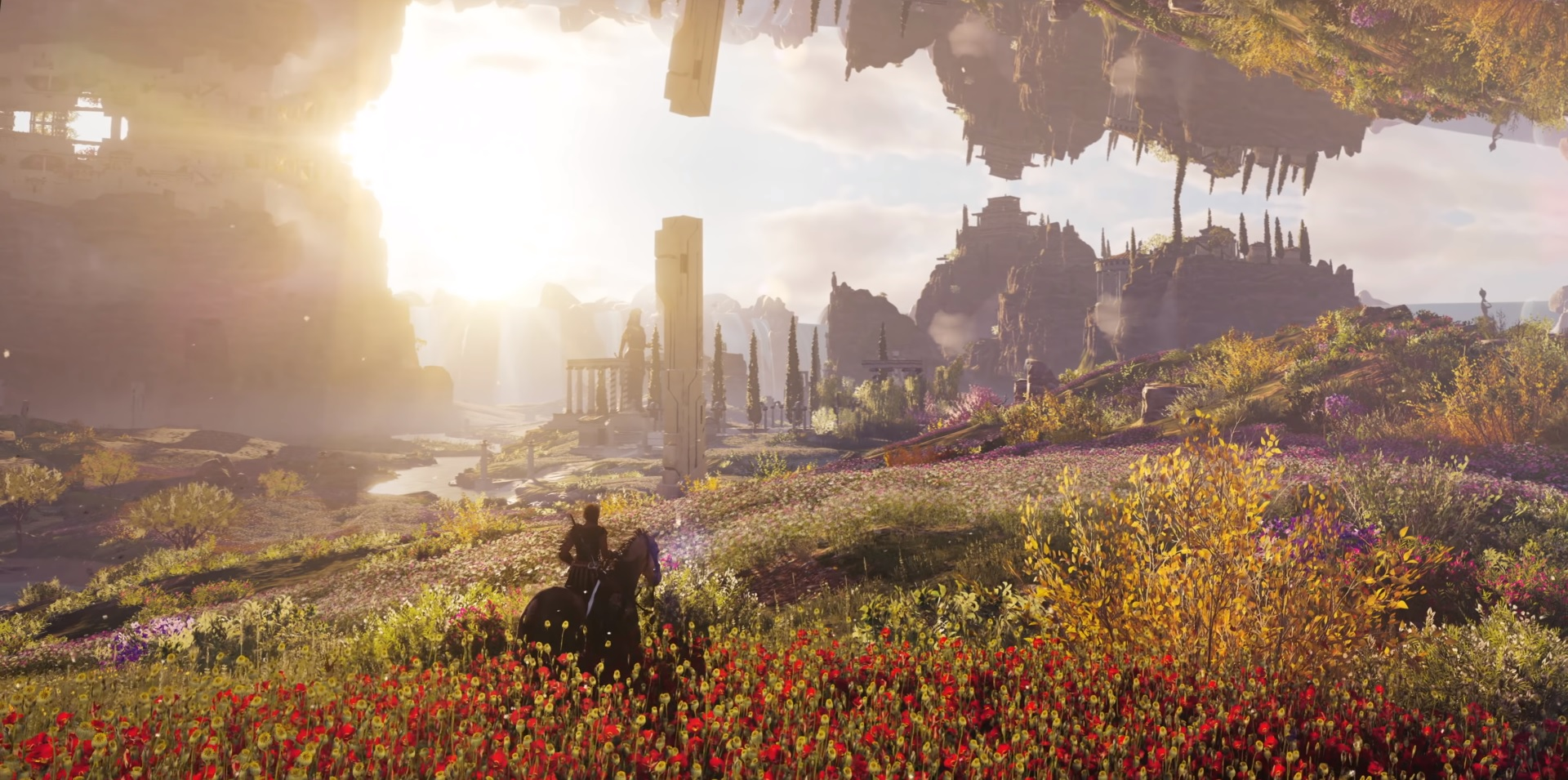 Assassin's Creed Odyssey's Fate of Atlantis DLC looks wild but not wet screenshot