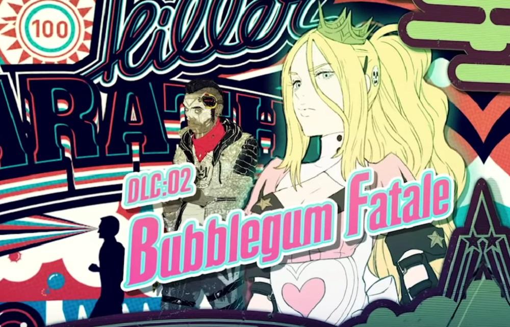 Travis Strikes Again drops Vol. 2 DLC 'Bubblegum Fatale' tomorrow screenshot