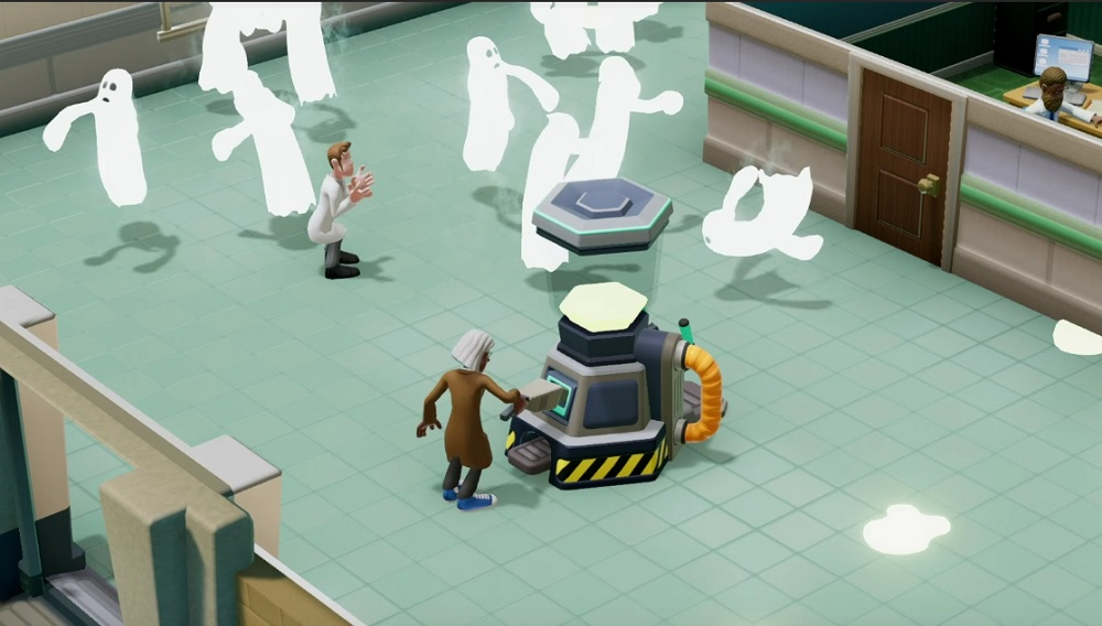 Two Point Hospital's Superbug Initiative challenge brings co-op play to the wards screenshot