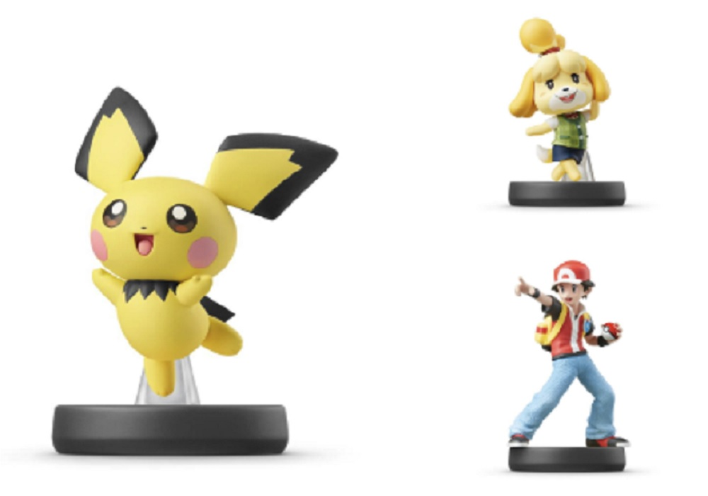 The next amiibo wave with Pokemon Trainer, Pichu, and Isabelle is coming in July