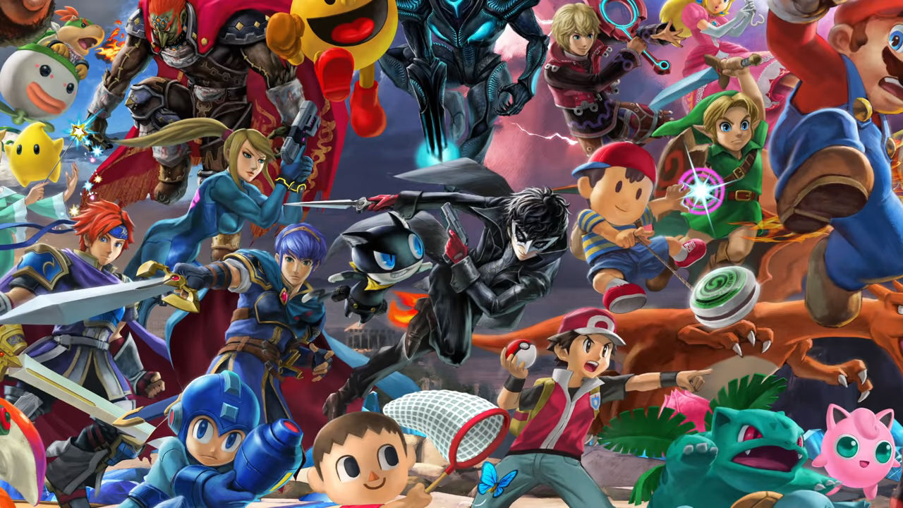 Here's a closer look at all of Joker's Smash Ultimate moves and his level screenshot