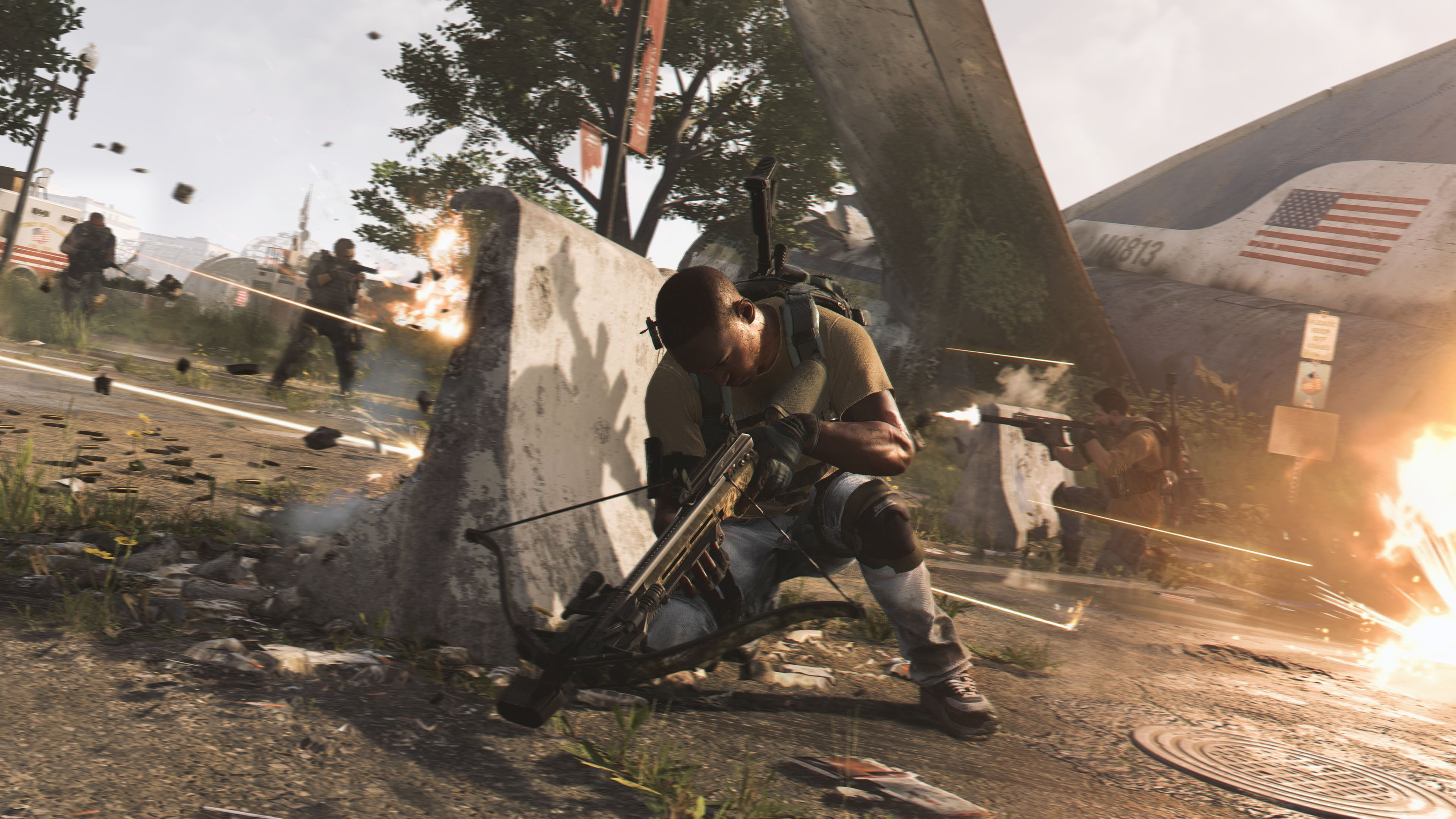 The Division 2 delays its first big eight-player raid, Operation Dark Hours screenshot