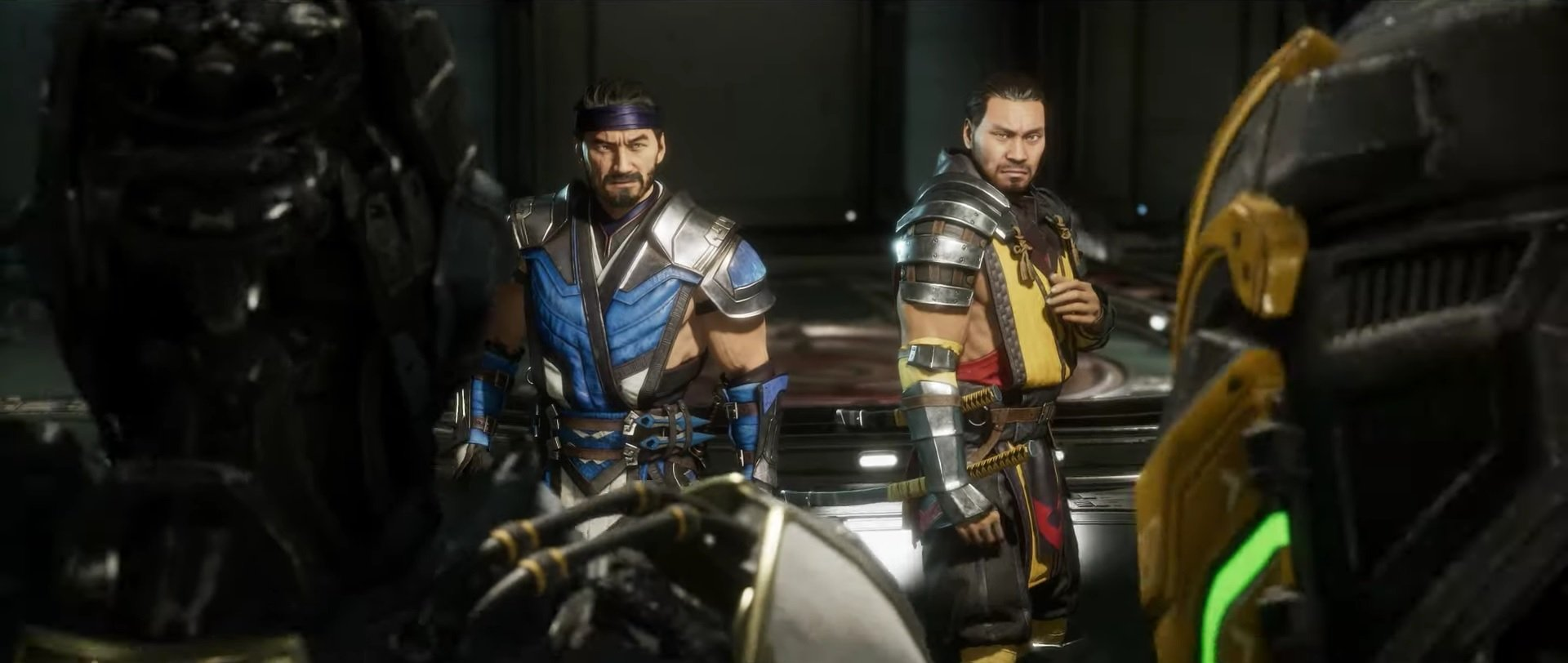 Mortal Kombat 11's launch trailer welcomes you to 'Test Your Might' screenshot