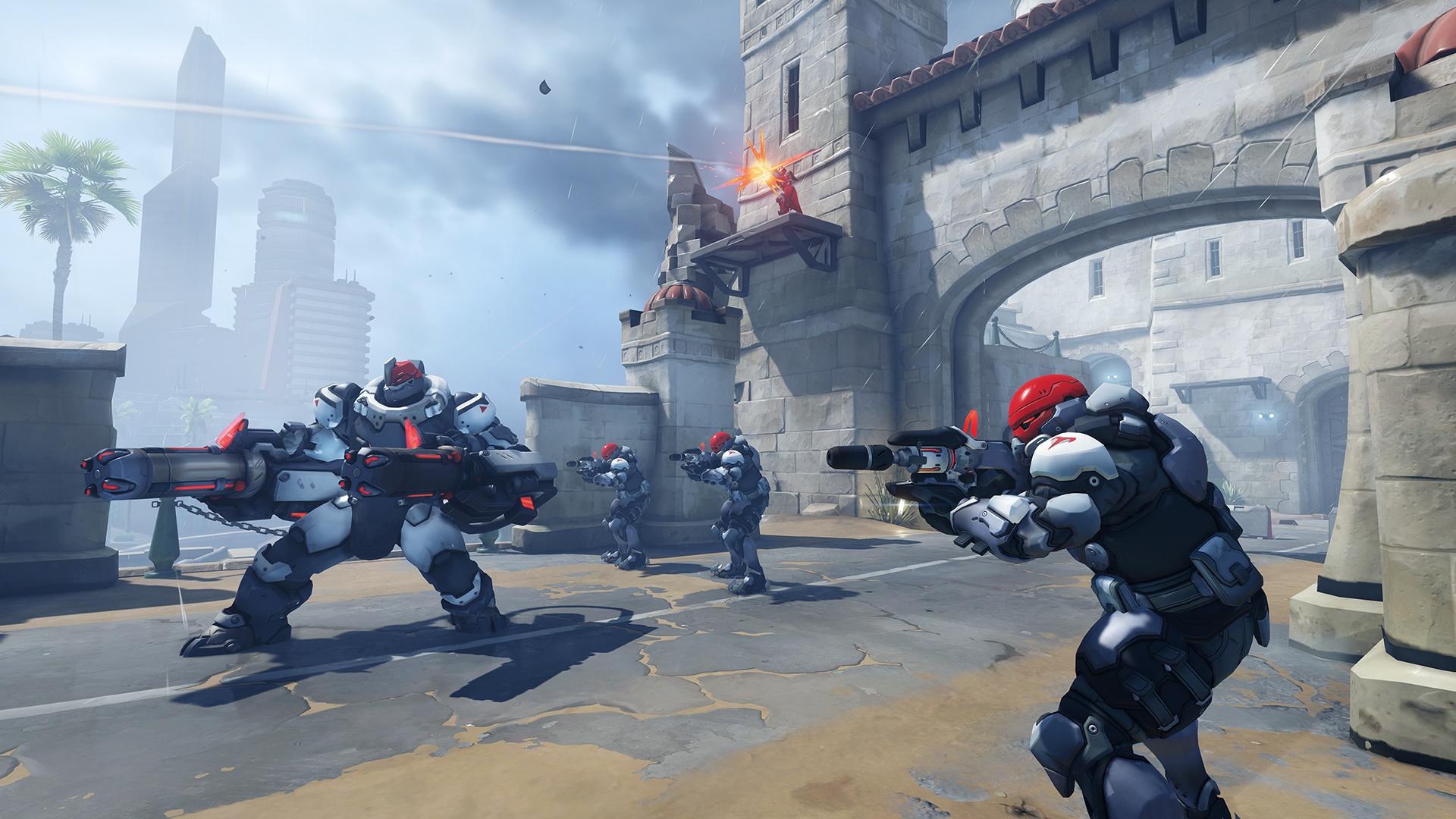 Overwatch PTR patch welcomes new Escort map Havana screenshot