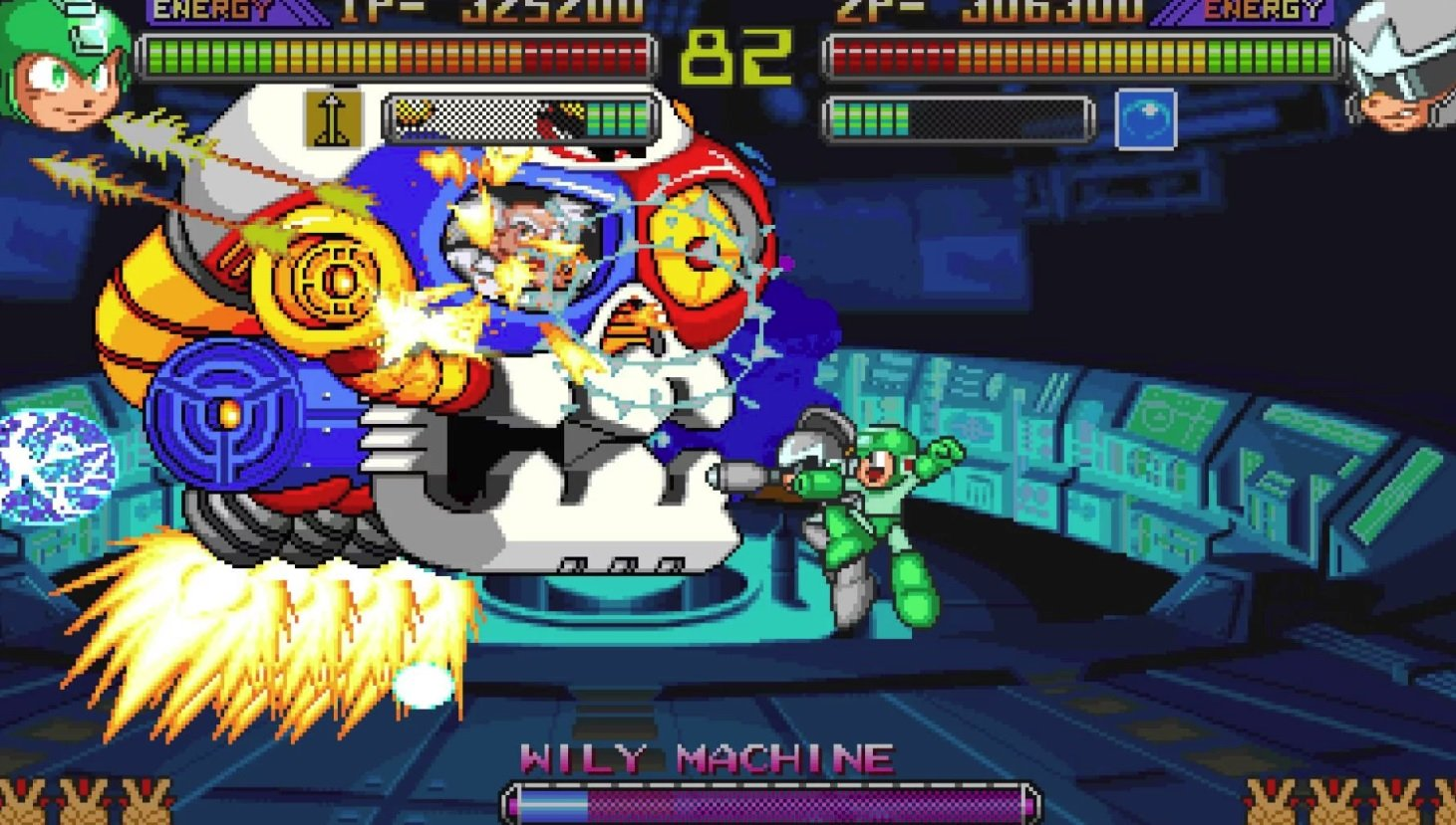 Mega Man: The Power Battle to be included in a western home release for the first time in 15 years screenshot