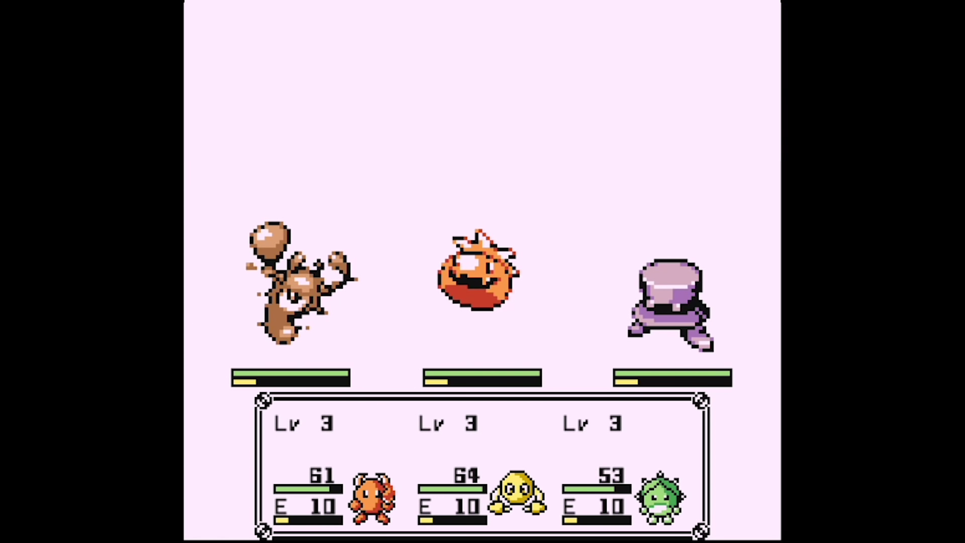 A three-on-three battle in Disc Creatures