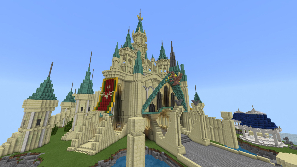 Breath Of The Wilds Hyrule Castle Has Been Recreated In Minecraft