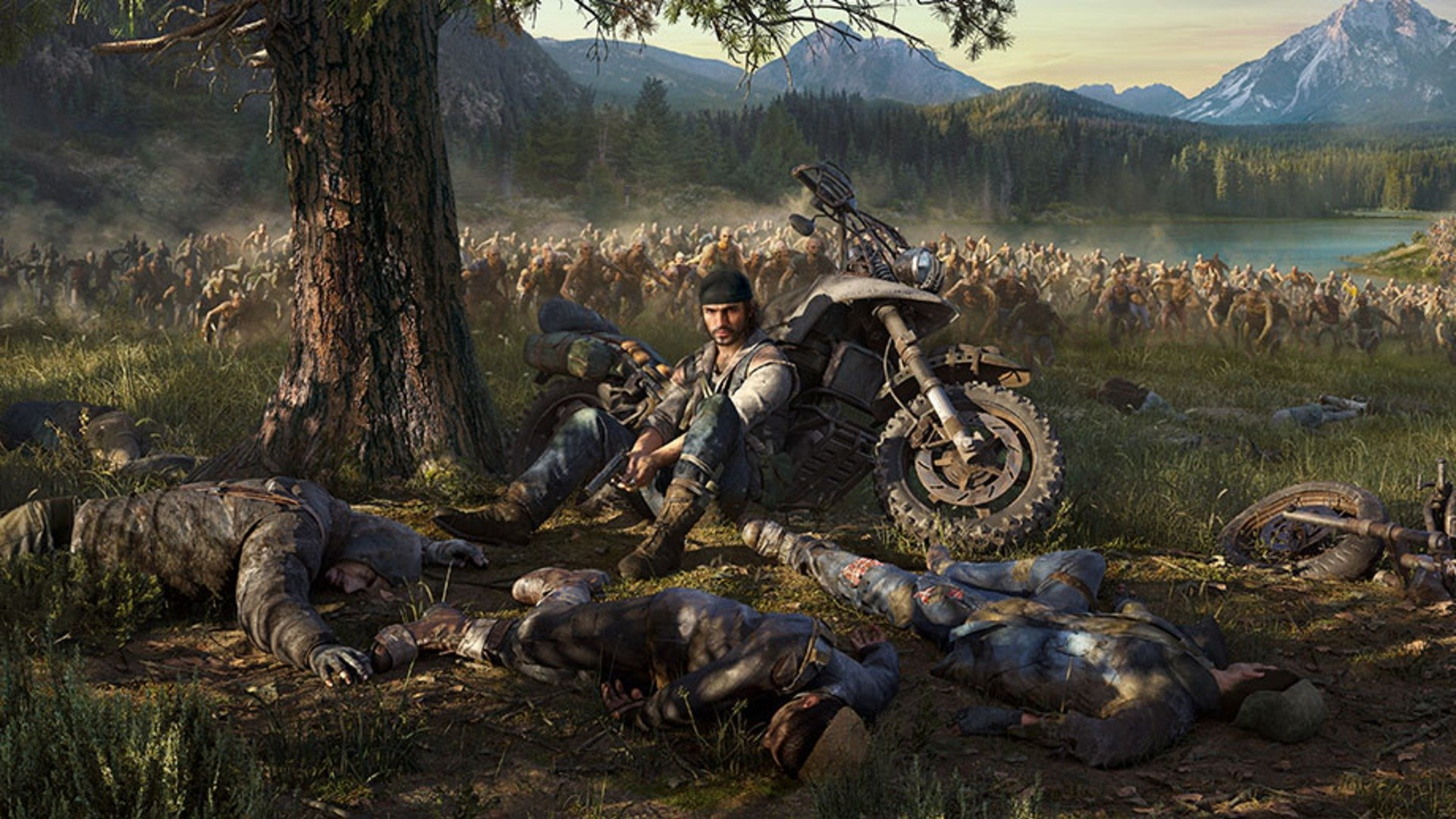 Vroom Vroom VROOOOMMMM goes the Days Gone motorcycle screenshot