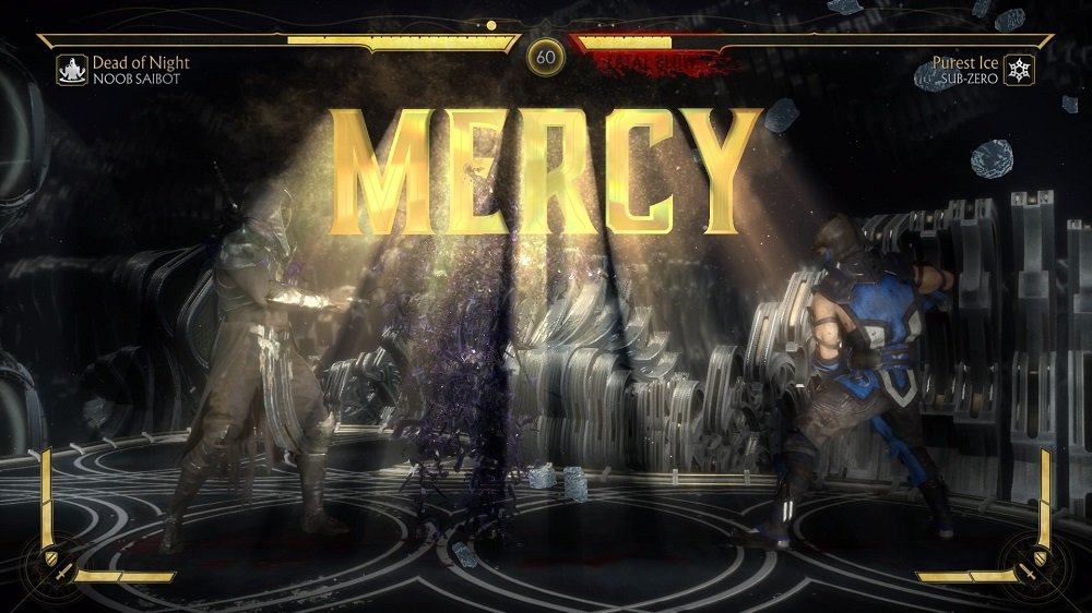 How to perform Mercy in Mortal Kombat 11