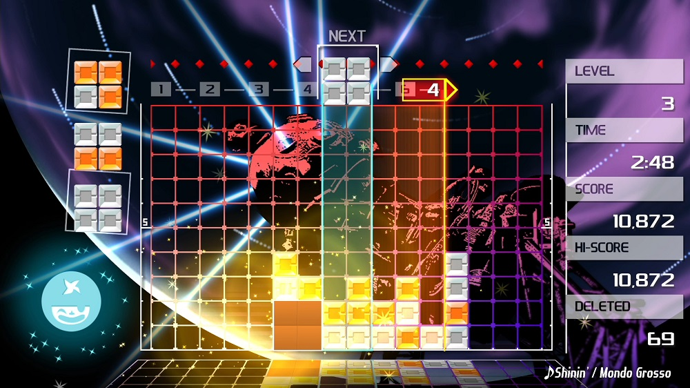 Lumines Remastered getting Ultimate Edition on PS4 and Switch via Limited Run screenshot