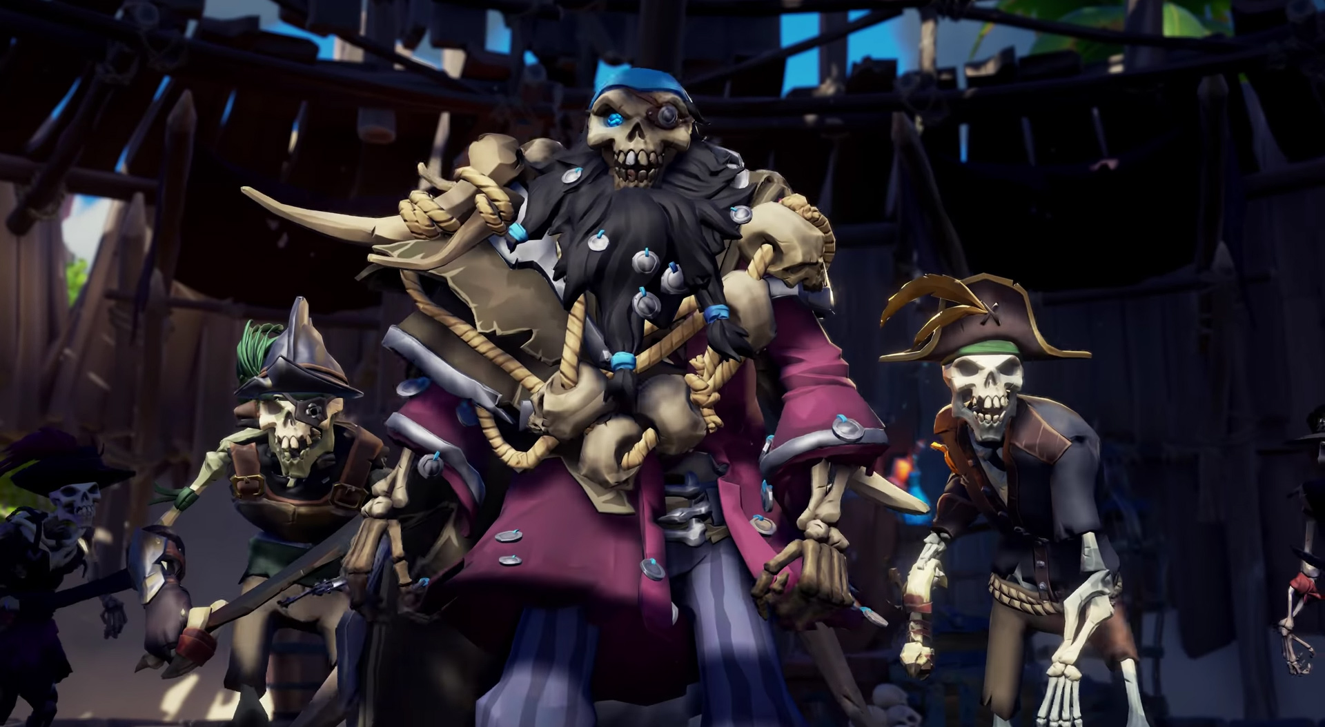 Sea of Thieves' Shores of Gold questline will pull me out of retirement screenshot