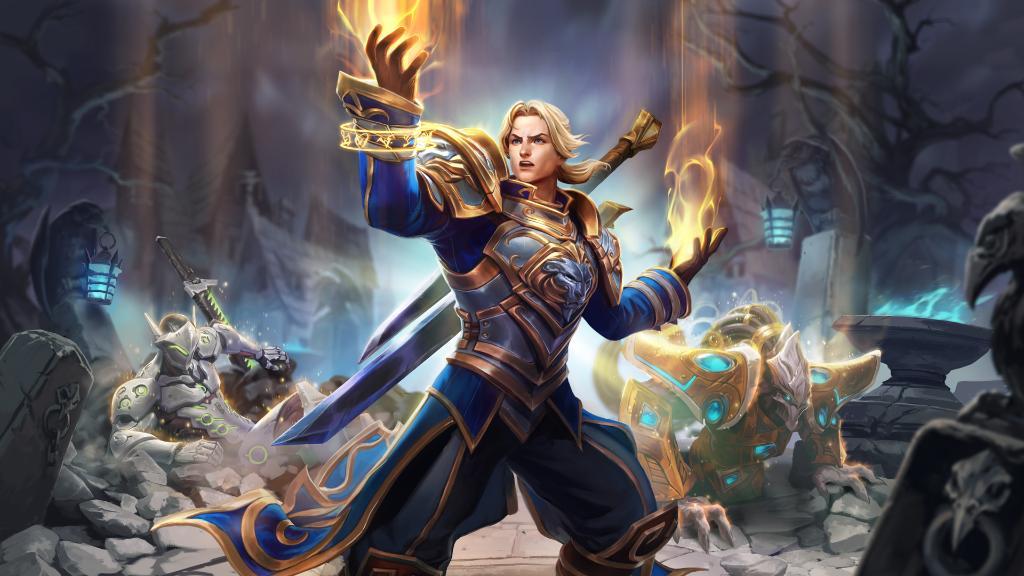 Anduin is the priest Heroes of the Storm always needed screenshot