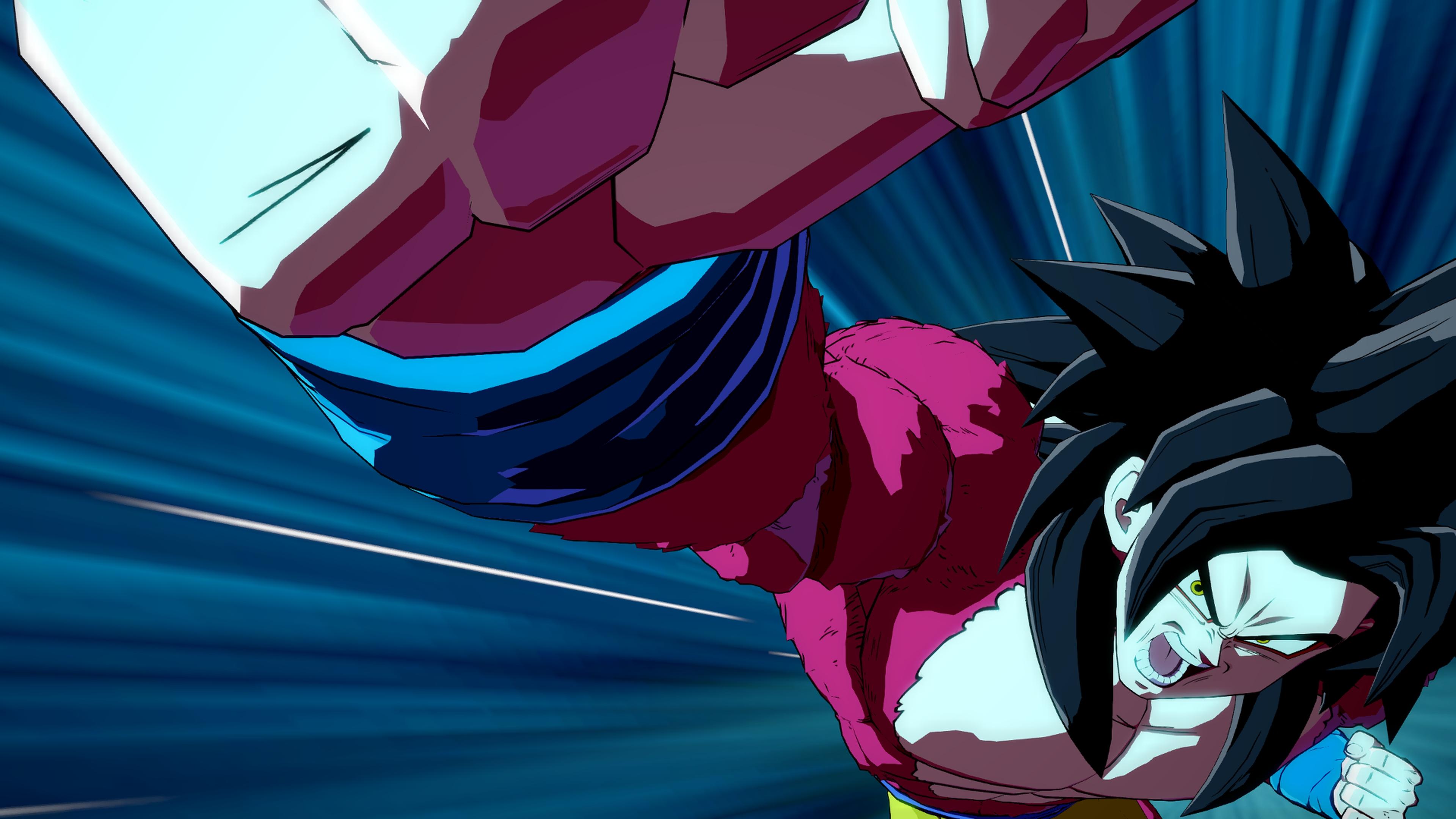 Dragon Ball FighterZ's Kid Goku GT looks devastating when he transforms into Super Saiyan 4 screenshot