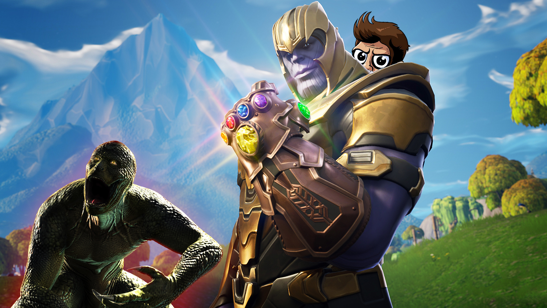 In today's episode of Pregame Discharge, the hollow earth lizards who made Fortnite are teaming up with the Avengers screenshot