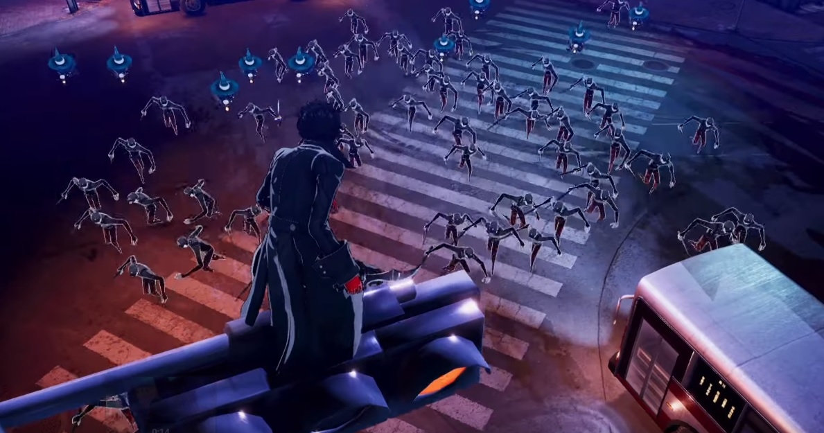 Put on your robe and wizard mask: Persona is getting a Warriors/Musou game screenshot