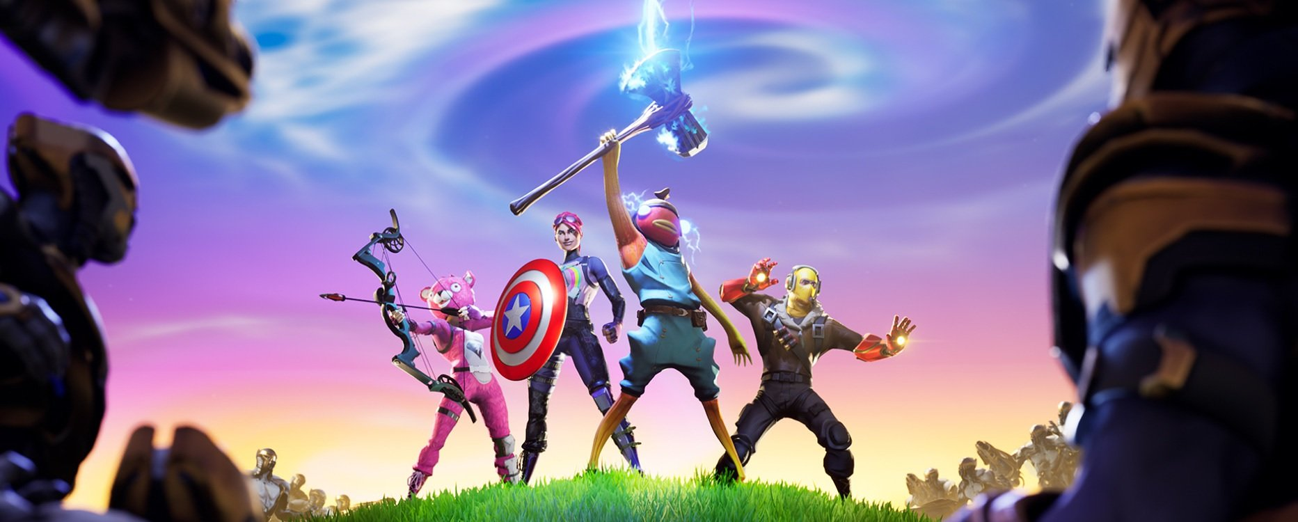 Avengers assemble in Fortnite's newest limited time mode screenshot