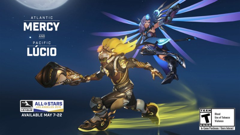 Mercy and Lucio are getting fancy skins for Overwatch ...