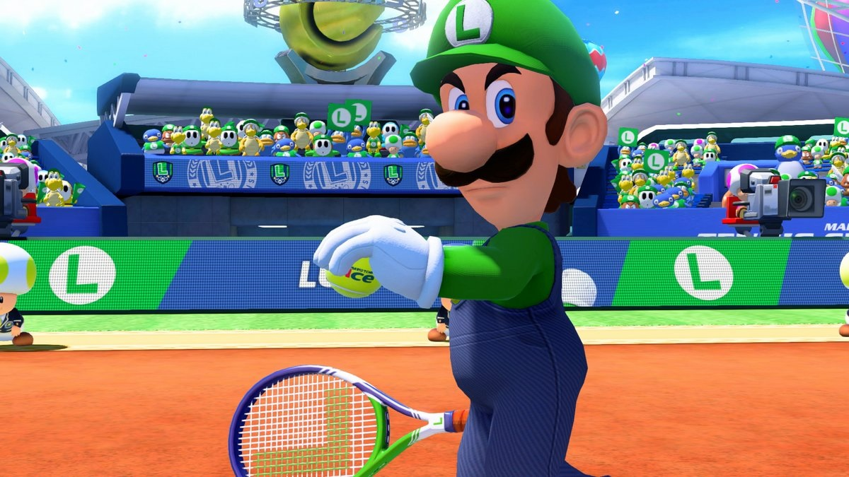 Mario Tennis Aces gets new demo with free week of Switch Online screenshot