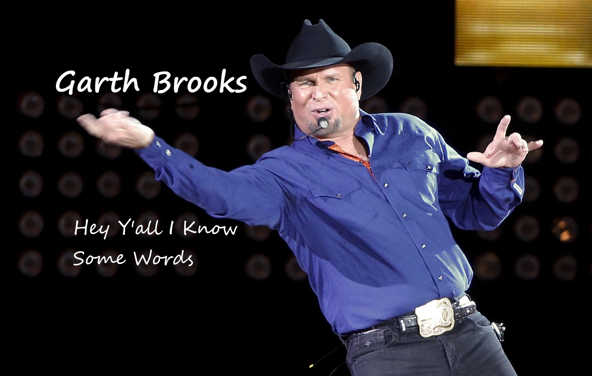 Garth Brooks has Words with Friends in low places screenshot