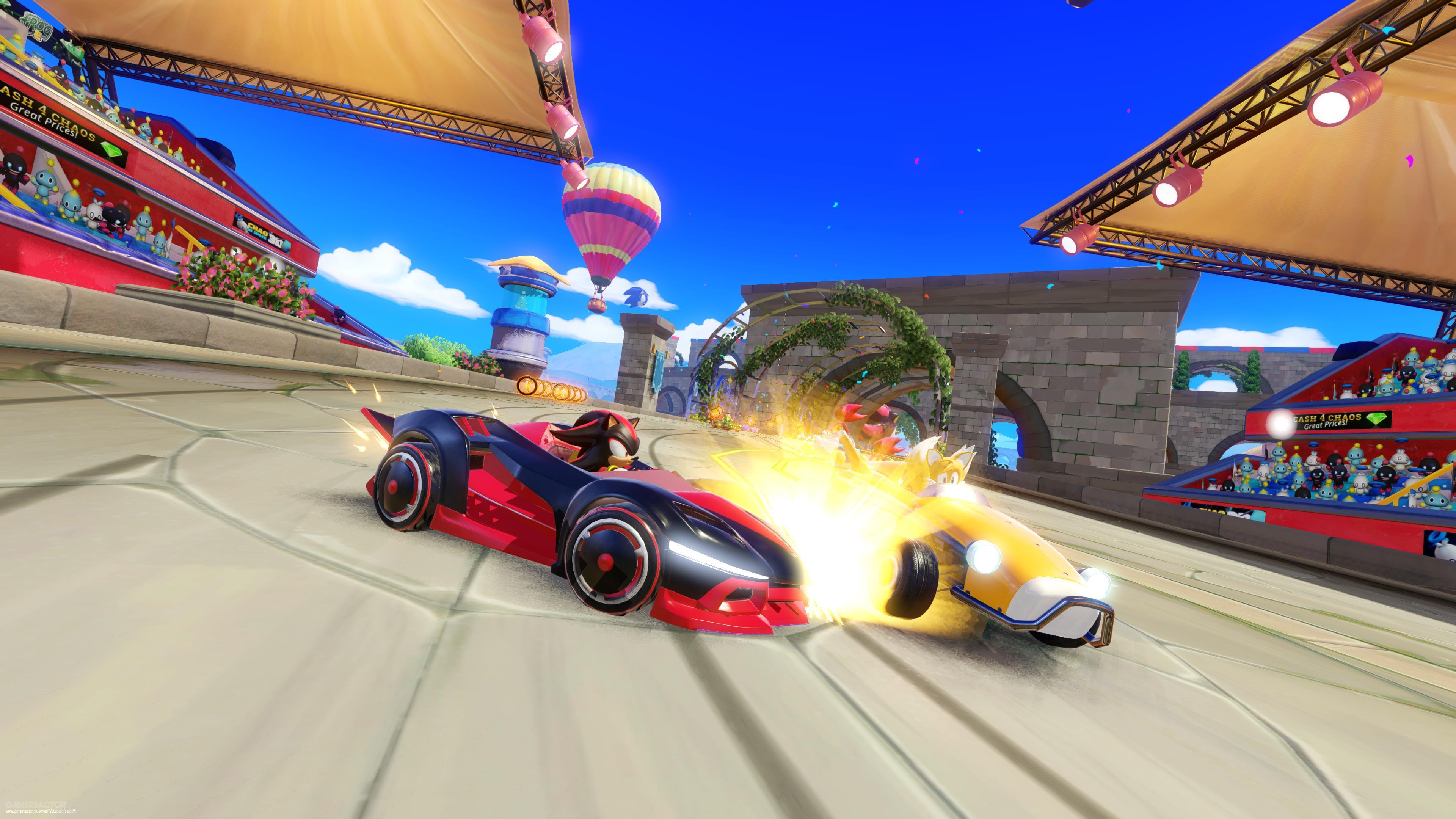 Team Sonic Racing will not have any special features on Switch, all versions to be equal screenshot