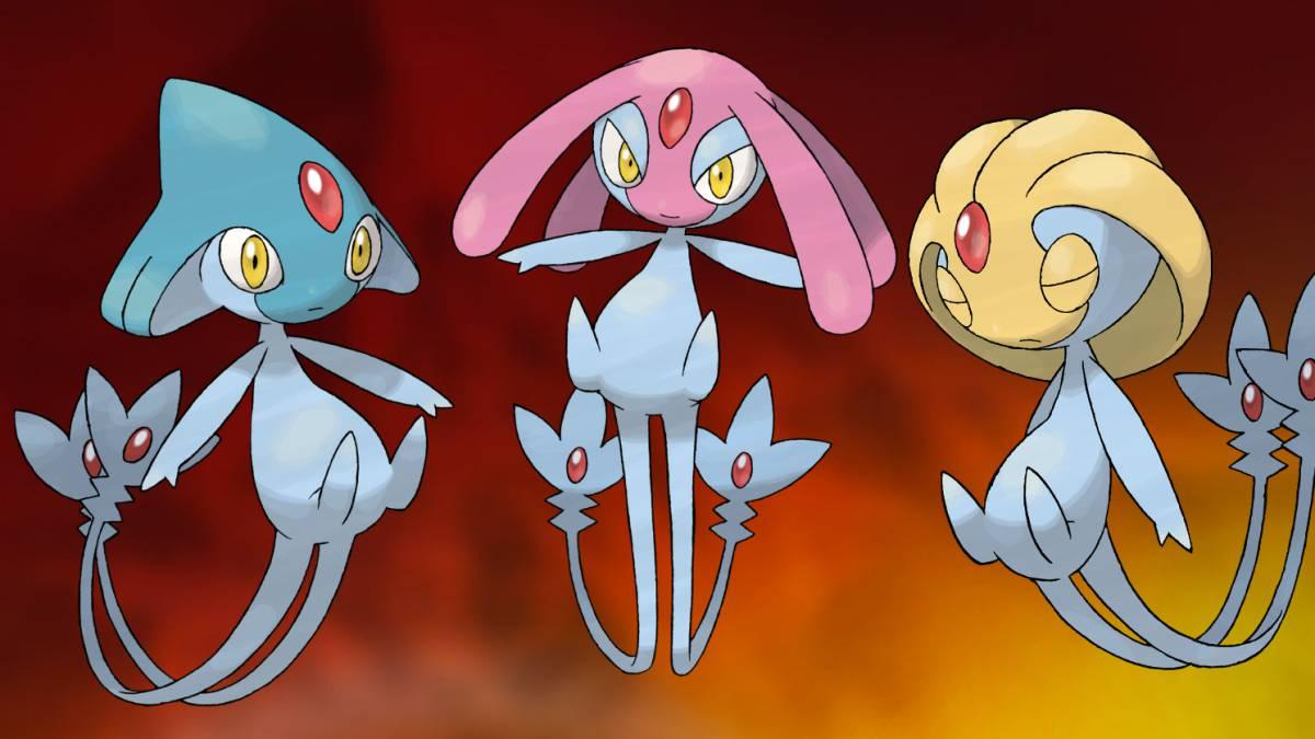 Pokemon Go introduces Diamond and Pearl's three legendary