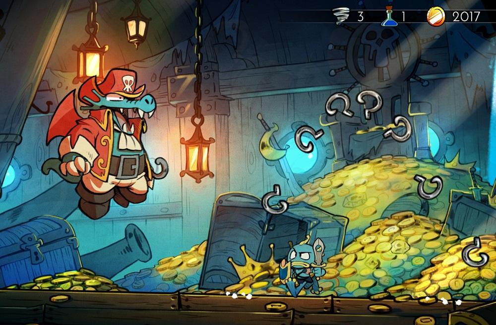 Wonder Boy: The Dragon's Trap pushing half a million sales, iOS and