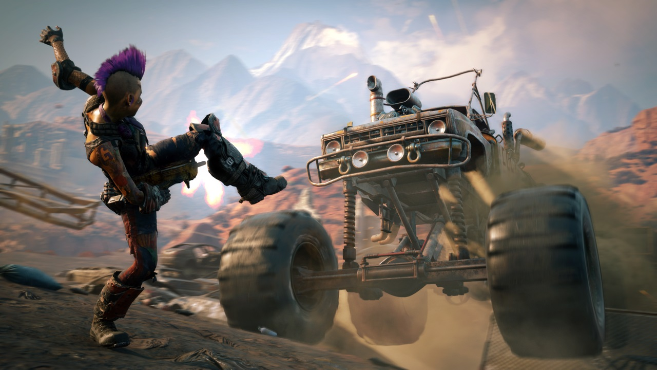 What do you want to see out of Rage 2, and how did you feel about the first game? screenshot