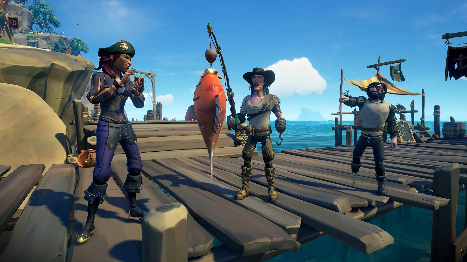 Here's a quick reference guide for Sea of Thieves fishing screenshot