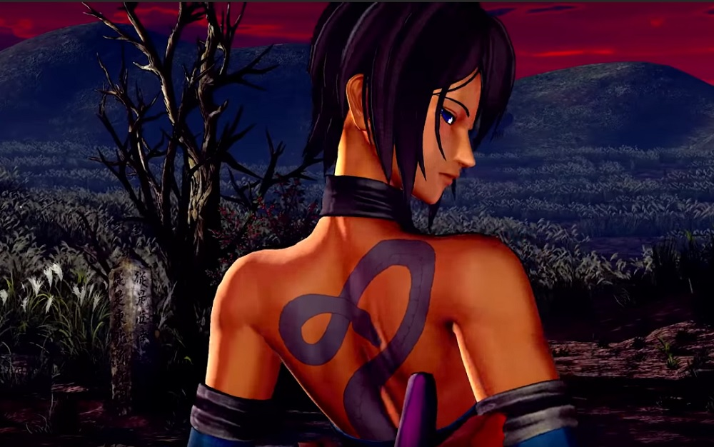 The mysterious Shiki is back for Samurai Shodown screenshot