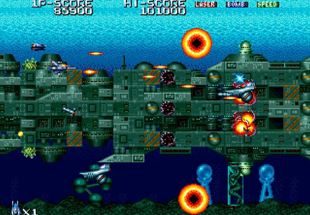 Shifting shmup Terra Force returns on Nintendo Switch screenshot