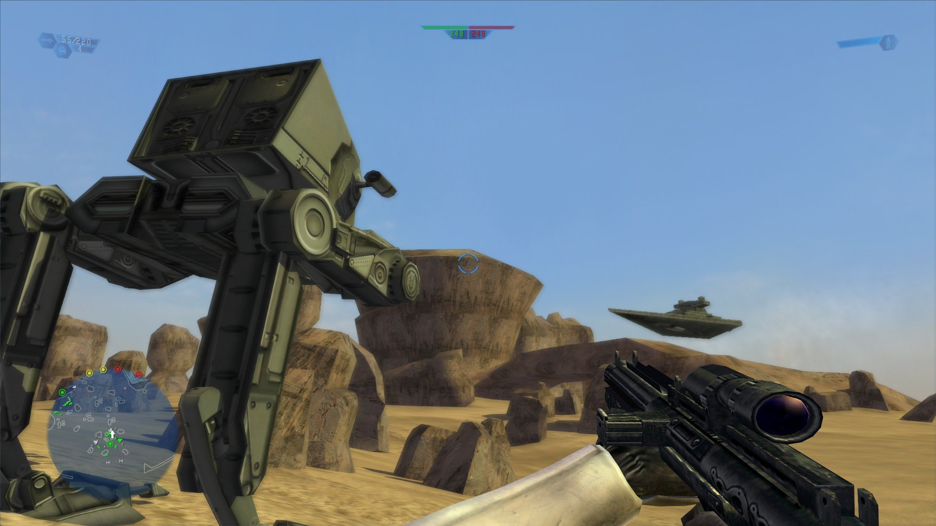 The original Star Wars Battlefront is now available on Steam and GOG